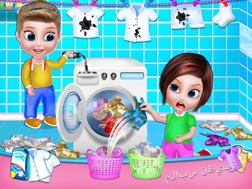 تنظيف المنزل - تنظيف المنزل لعبة بنات 4 تصوير الشاشة