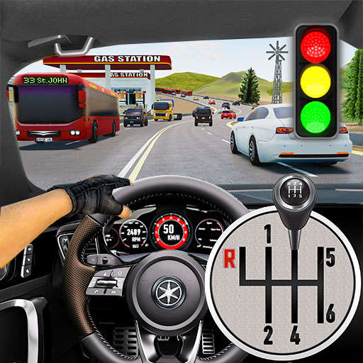Car Driving School 2020: Real Driving Academy Test