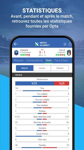 Match en Direct - Live Score 5 تصوير الشاشة