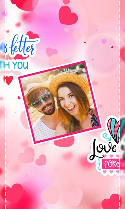 Valentines Day Photo LWP 5 تصوير الشاشة