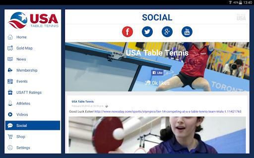 USA Table Tennis 7 تصوير الشاشة