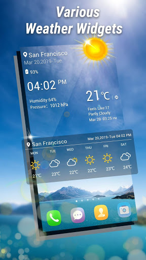 Weather Forecast - Weather Radar & Weather Live screenshot 2
