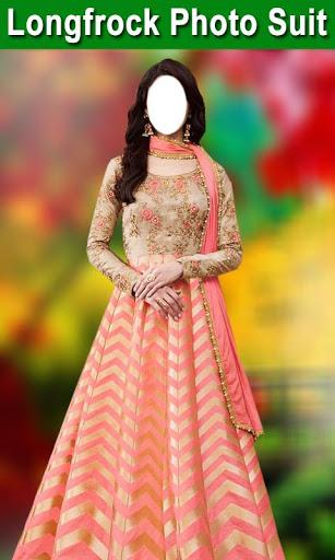 Longfrock Photo Suit for girls : Women long dress screenshot 3