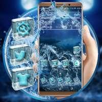 Blue Ice Horse Launcher Theme on APKTom