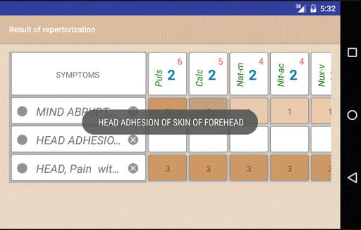 Homoeopathic Repertorium screenshot 4