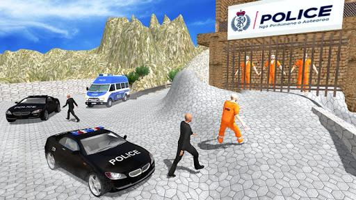 US Police Car Chase Driver:Free Simulation games screenshot 2