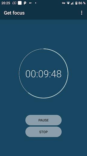 Get Focus (Pomodoro Timer) screenshot 2