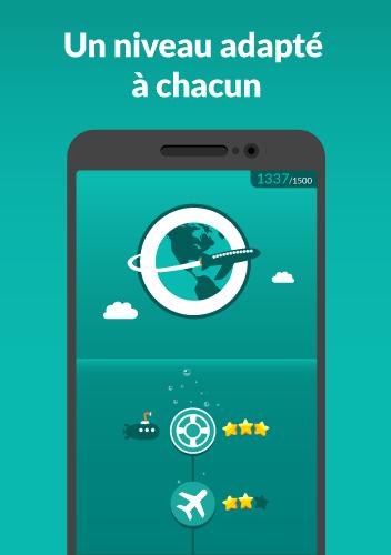 WordDive : Apprendre l'anglais, l'espagnol & plus screenshot 2