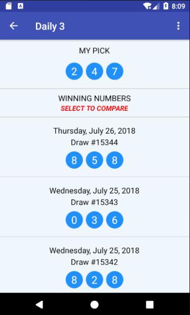 U-Pick Lotto screenshot 7