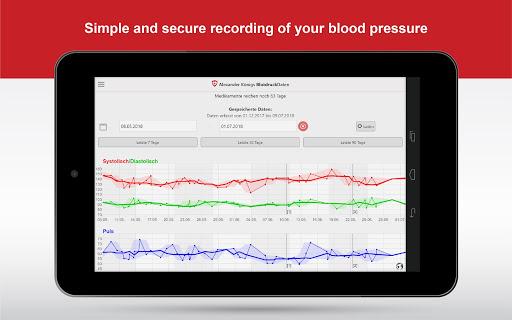 BloodPressureDB 5 تصوير الشاشة