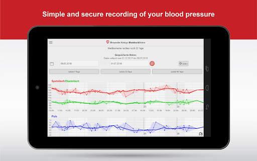 BloodPressureDB 6 تصوير الشاشة