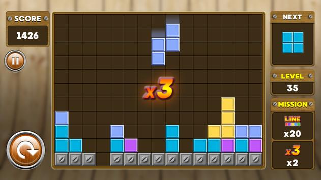 Block Puzzle 3 : Classic Brick 8 تصوير الشاشة