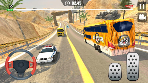 Offroad Hill Climb Bus Racing 2020 screenshot 2