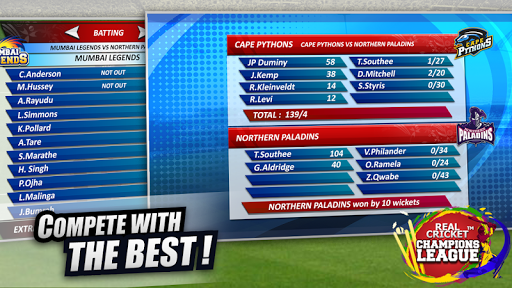 Real Cricket™ Champions League 3 تصوير الشاشة