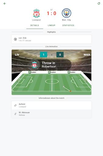 GoalAlert - The fastest football app 11 تصوير الشاشة