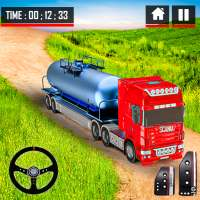 Oil Tanker Truck Driving Simulation Games 2021 on 9Apps