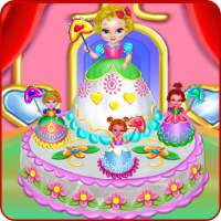 Baby Princess Cake Cooking on 9Apps