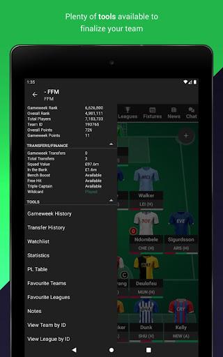 (FPL) Fantasy Football Manager for Premier League screenshot 9