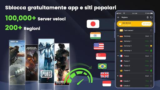 3X VPN - Navigare in sicurezza, Boost screenshot 7