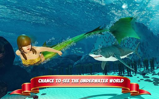 Underwater Mermaid Simulator screenshot 3