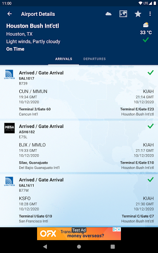 FlightAware Flight Tracker 11 تصوير الشاشة