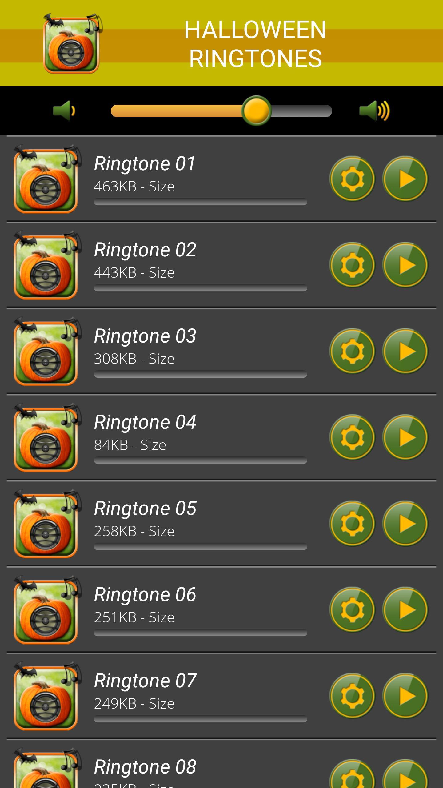 Halloween Ringtones screenshot 1