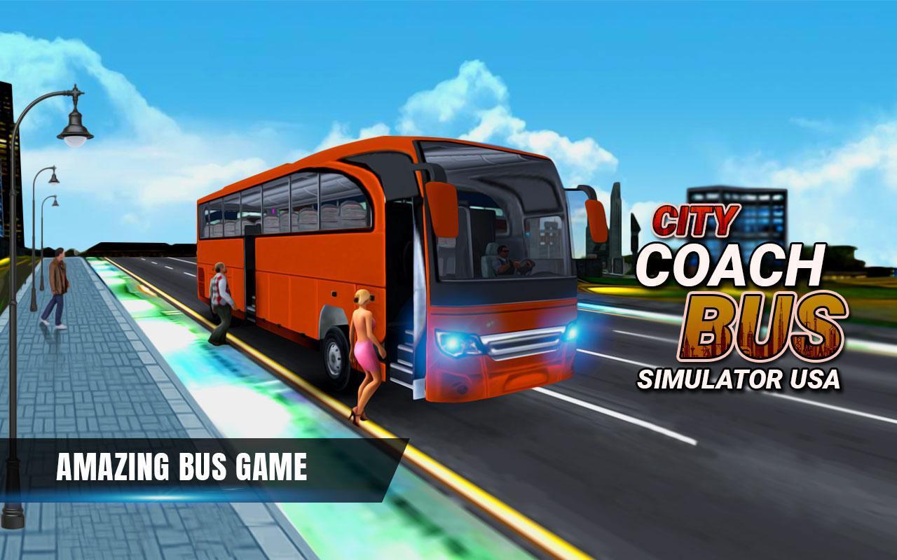 City Coach Bus Simulator 17 - Real Parking Test 3D 1 تصوير الشاشة