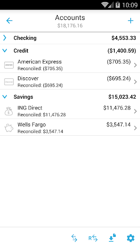 Home Budget with Sync Lite 8 تصوير الشاشة