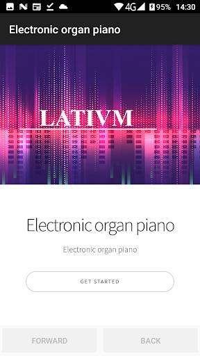 Electronic organ 4 تصوير الشاشة