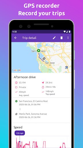Fuelio: gas log, costs, car management, GPS routes screenshot 7