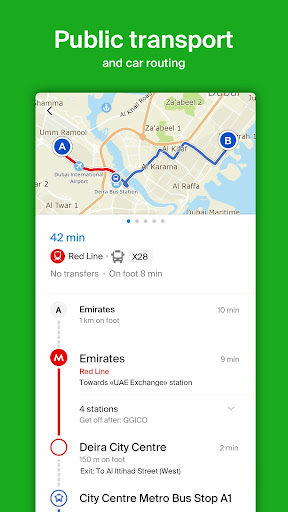2GIS: directory, map, navigator without internet screenshot 6