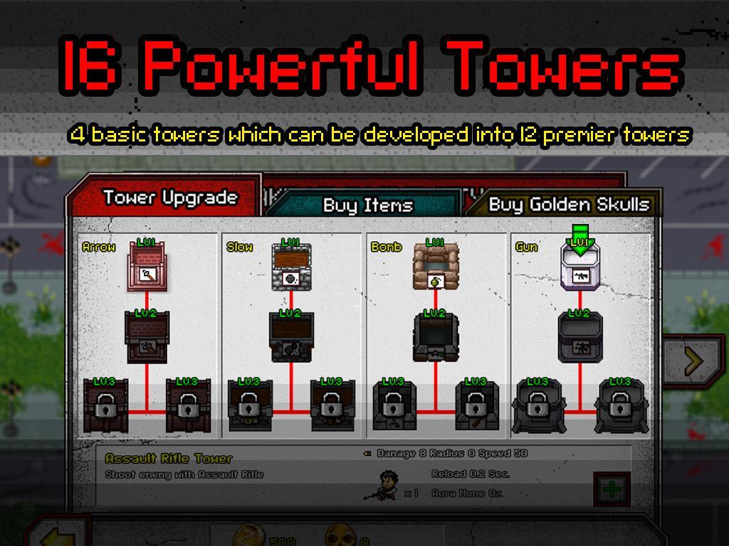 Zombie 4 Day Tower Defense TD 4 تصوير الشاشة