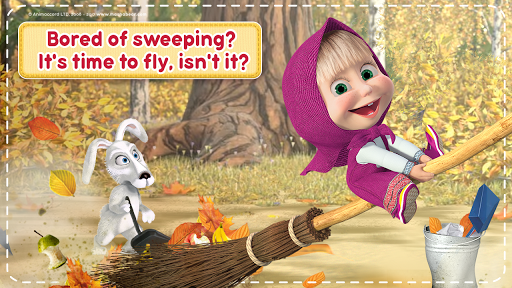 Masha and the Bear: House Cleaning Games for Girls screenshot 8