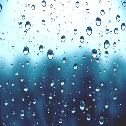 الاصوات من المطر أيقونة