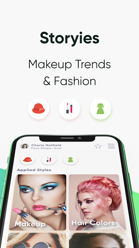 HiFace - Face Shape Detector, Makeup try on, Style screenshot 6