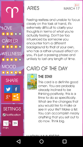 Daily Horoscope 10 تصوير الشاشة