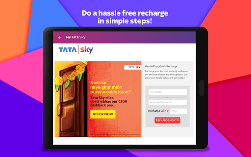 Tata Sky Mobile- Live TV, Movies, Sports, Recharge 19 تصوير الشاشة