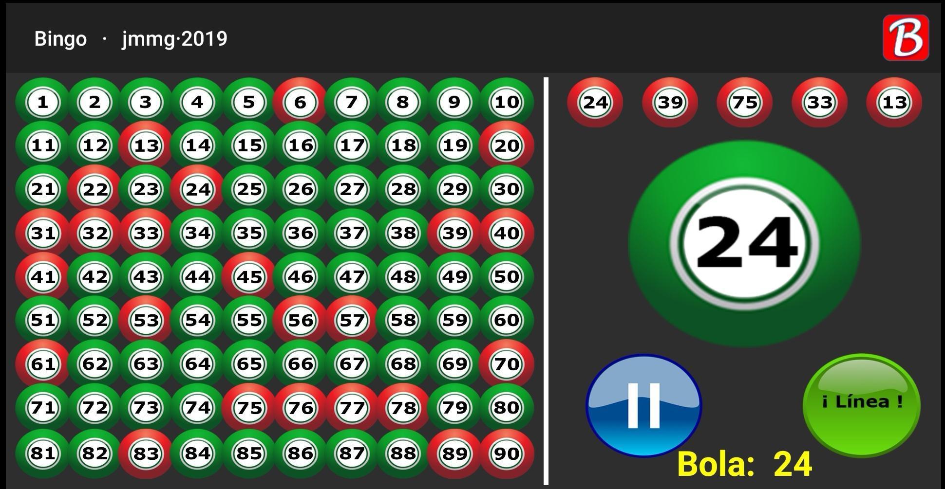 Jugar al BingO - Números del Bingo. 1 تصوير الشاشة