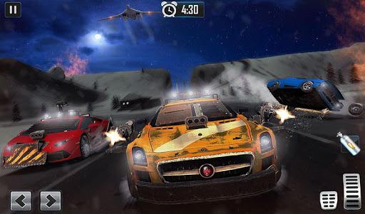 Furious Car Shooting Game: Snow Car war Games 2021 screenshot 9