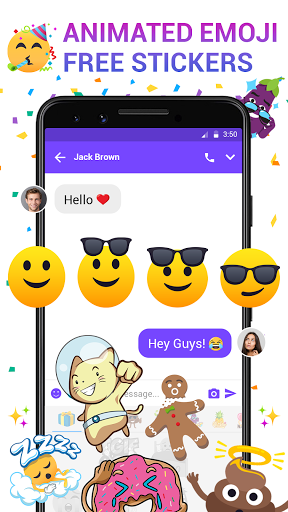 Messenger - Messages, Texting, Free Messenger SMS 3 تصوير الشاشة
