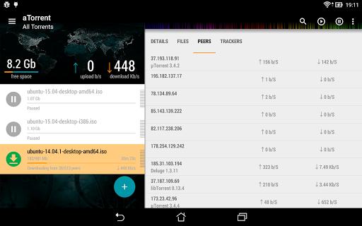 aTorrent - torrent downloader screenshot 11