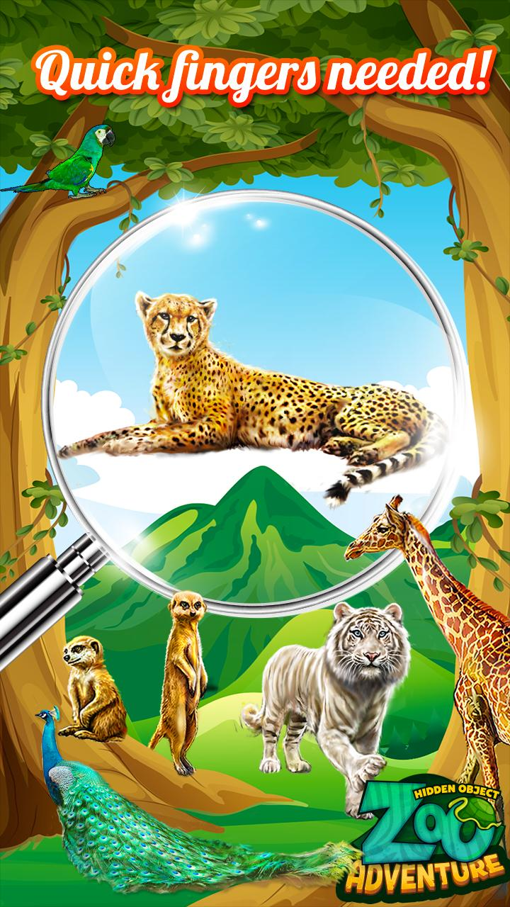 Zoo Adventure Hidden Objects 4 تصوير الشاشة