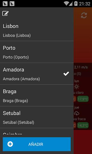 El tiempo Portugal screenshot 3