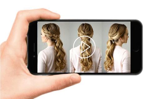 School Hairstyles Step By Step, Braiding Hairstyle screenshot 1