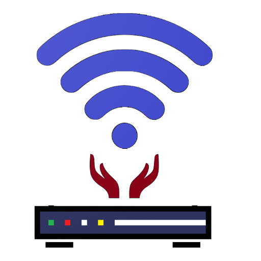 маршрутизатора настройками администратора иконка