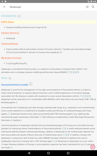 AHFS Drug Information (2020) 17 تصوير الشاشة