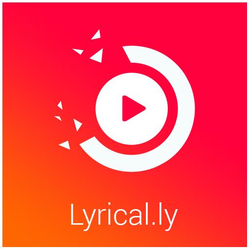 Lyrical.ly - Lyrical Video Status Maker أيقونة