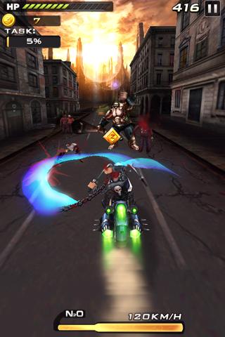 Death Moto 2 : Zombile Killer - Top Fun Bike Game 3 تصوير الشاشة