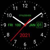 Analog Clock Live Wallpaper-7 on 9Apps