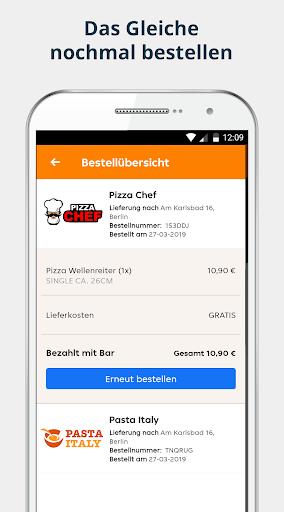 pizza.de | Food Delivery 4 تصوير الشاشة